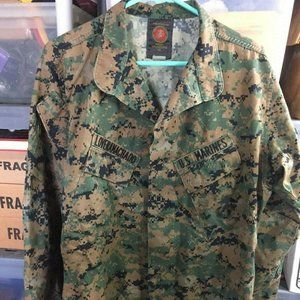 Jackets & Coats - US Marines Military Camouflage Jacket MD